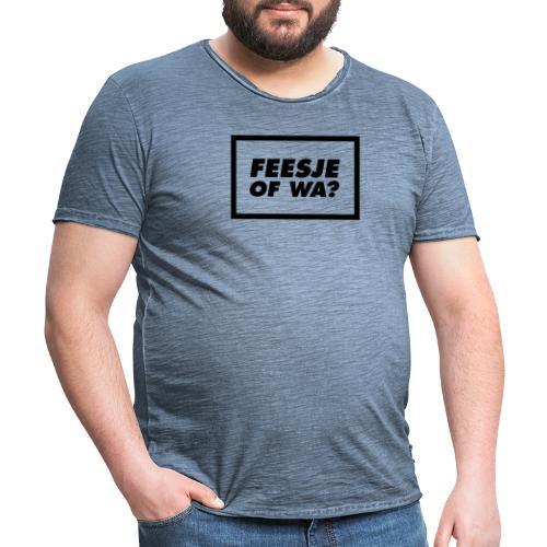 Feesje of wa? - T-shirt vintage Homme