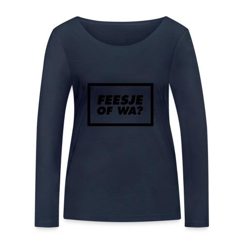 Feesje of wa? - T-shirt manches longues bio Stanley & Stella Femme