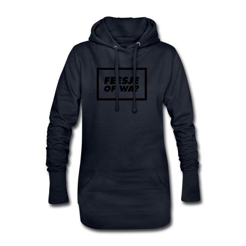 Feesje of wa? - Sweat-shirt à capuche long Femme
