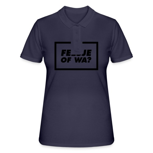 Feesje of wa? - Women's Polo Shirt