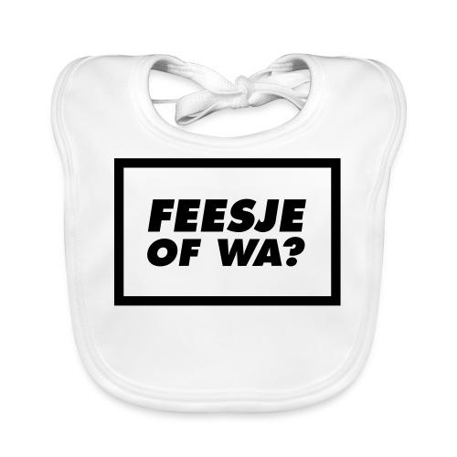 Feesje of wa? - Bavoir bio Bébé