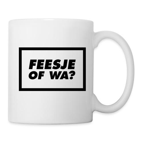 Feesje of wa? - Mug blanc