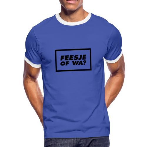 Feesje of wa? - T-shirt contrasté Homme