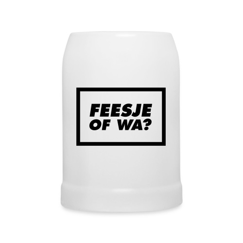 Feesje of wa? - Chope en céramique