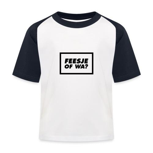 Feesje of wa? - T-shirt baseball Enfant