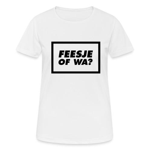 Feesje of wa? - T-shirt respirant Femme