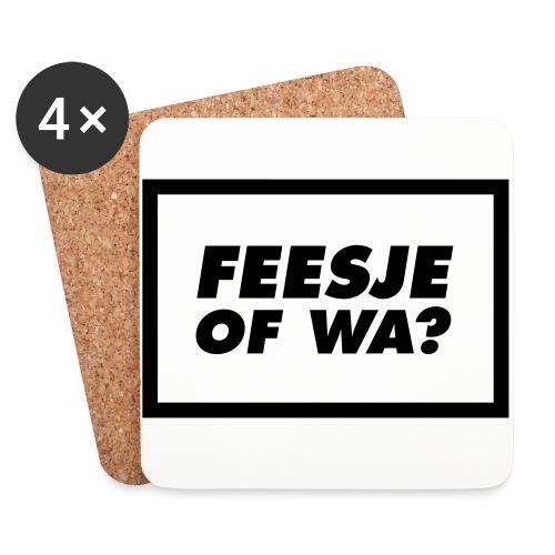 Feesje of wa? - Dessous de verre (lot de 4)