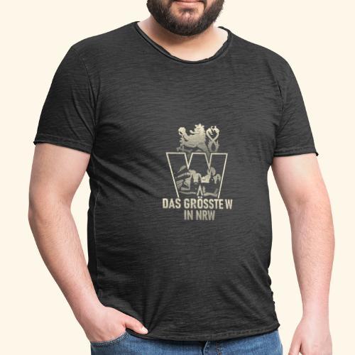 Wuppertal T-Shirt Größtes W in NRW - coole Geschenkidee! - Männer Vintage T-Shirt