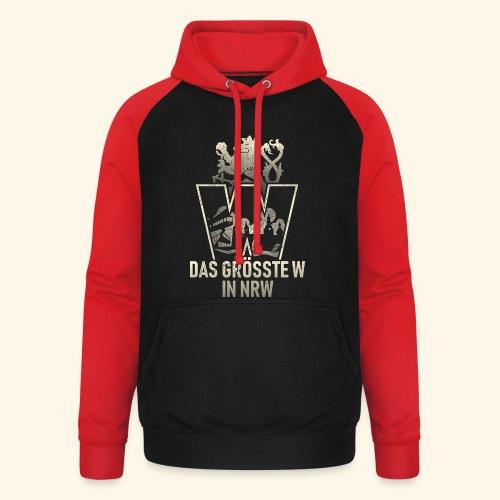 Wuppertal T-Shirt Größtes W in NRW - coole Geschenkidee! - Unisex Baseball Hoodie
