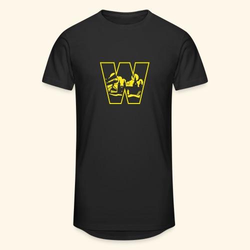 W wie Wuppertal Wahrzeichen T-Shirt - Männer Urban Longshirt