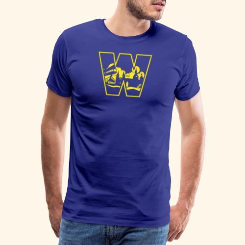 W wie Wuppertal Wahrzeichen T-Shirt - Männer Premium T-Shirt