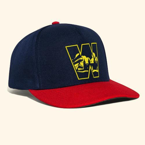 W wie Wuppertal Wahrzeichen T-Shirt - Snapback Cap