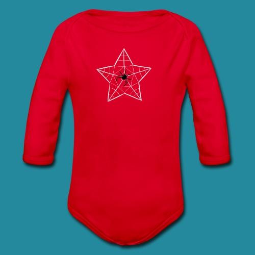 étoile d'araignée - Body bébé bio manches longues