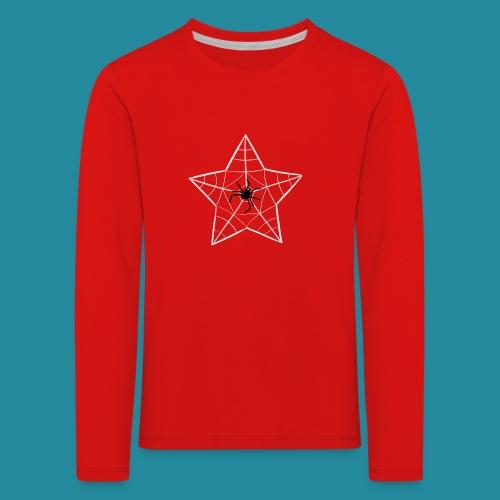 étoile d'araignée - T-shirt manches longues Premium Enfant
