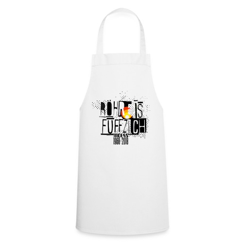 Röhrenjubiläumsshirt 1 - Kochschürze
