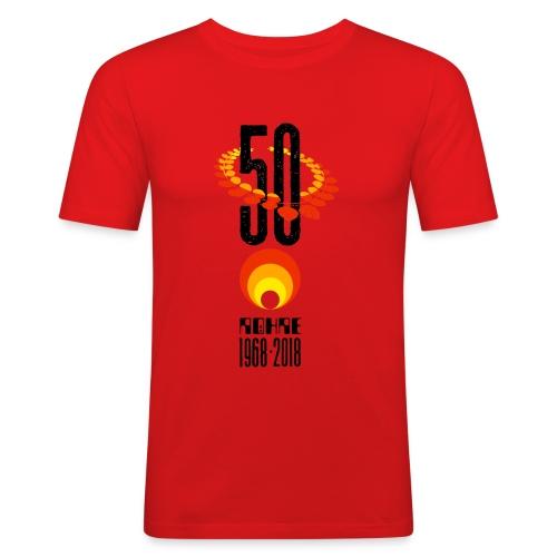 Röhrenjubiläumsshirt 3 - Männer Slim Fit T-Shirt