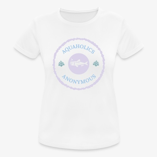 naisten tekninen t-paita