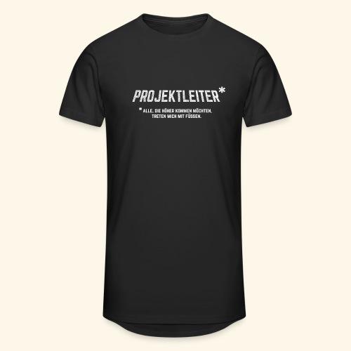Projektleiter T-Shirt Bürohumor Geschenkidee - Männer Urban Longshirt