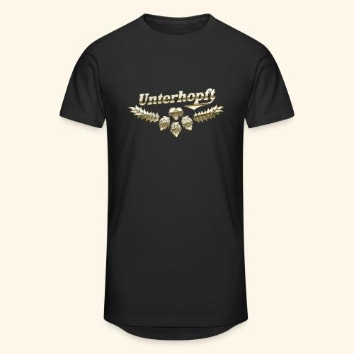 Unterhopft T-Shirts lustiger Spruch für Biertrinker - Männer Urban Longshirt