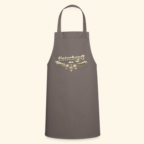 Unterhopft T-Shirts lustiger Spruch für Biertrinker - Kochschürze