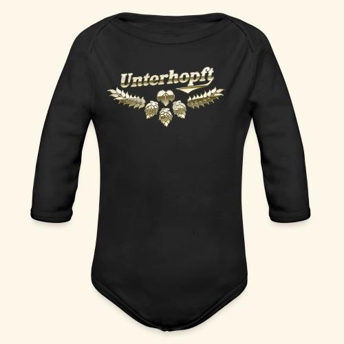 Unterhopft-T-Shirt lustiger Spruch für Biertrinker