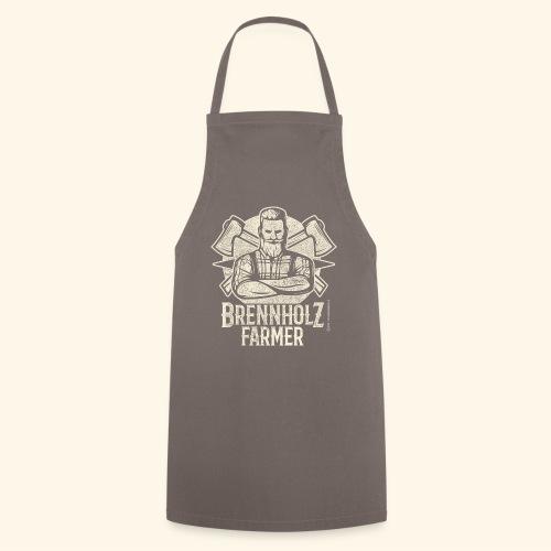 Holzfäller Sprüche-T-Shirt Brennholzfarmer - Geschenkidee - Kochschürze