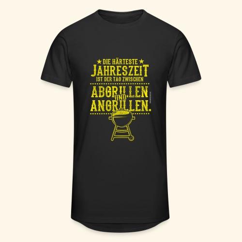 Grill-T-Shirt Grillsaison Abgrillen Angrillen - Männer Urban Longshirt