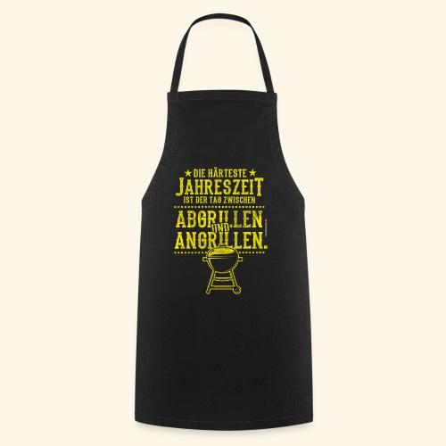 Grill-T-Shirt Grillsaison Abgrillen Angrillen - Kochschürze