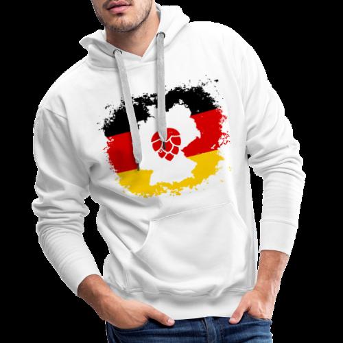 Hopfen Grunge Deutschland Landkarte