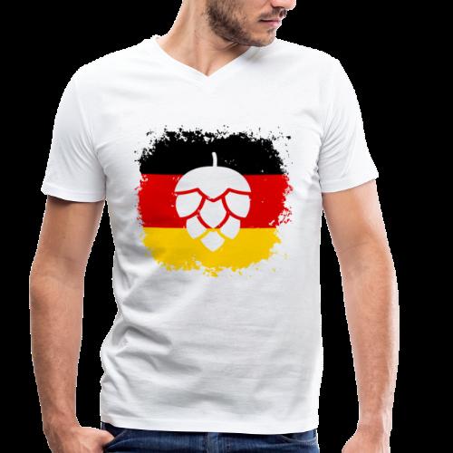 Hopfen Grunge Deutschland Flagge