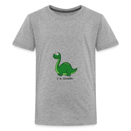 I'm Giraffe - T-shirt Premium Ado