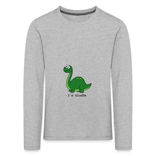 I'm Giraffe - T-shirt manches longues Premium Enfant