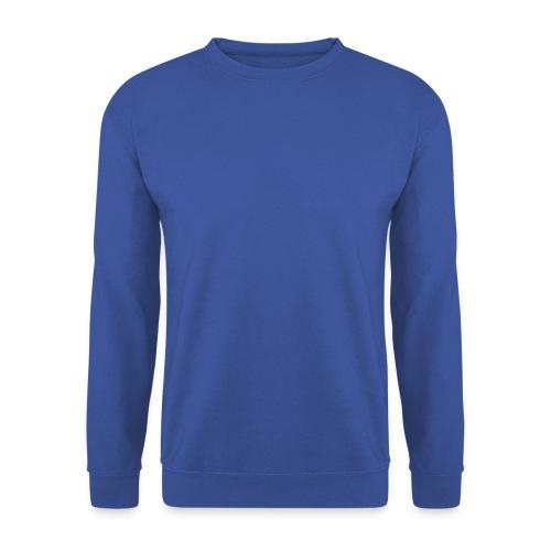 Mannen T-shirt Blauw - Mannen sweater