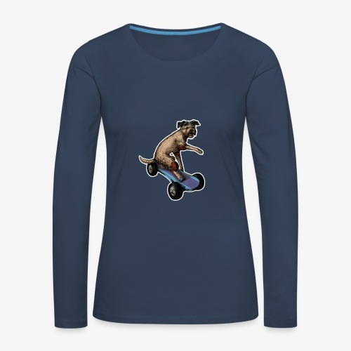Boarder Terrier Dark tee