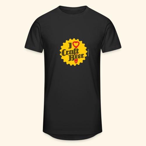Craft Beer T-Shirt Design I Love Craft Beer - Männer Urban Longshirt