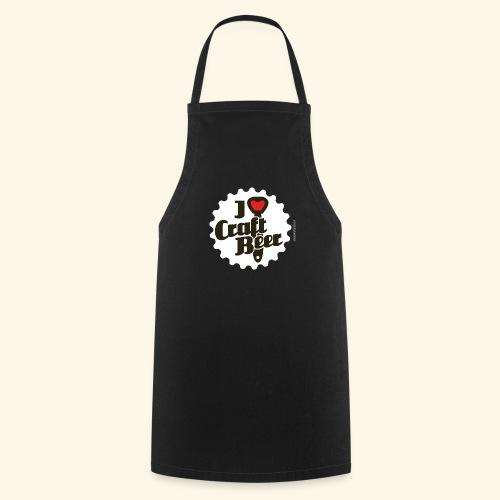 Craft Beer T-Shirt Design I Love Craft Beer - Kochschürze