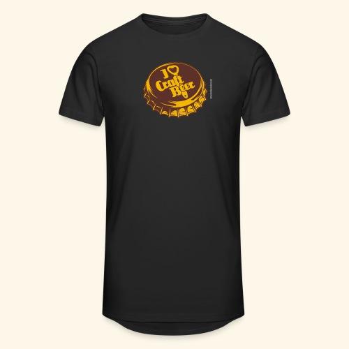 Craft Beer T-Shirt Design für Bier-Liebhaber - Männer Urban Longshirt