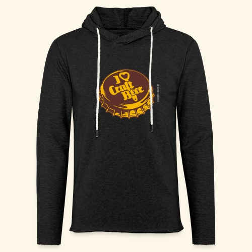 Craft Beer T-Shirt Design für Bier-Liebhaber - Leichtes Kapuzensweatshirt Unisex