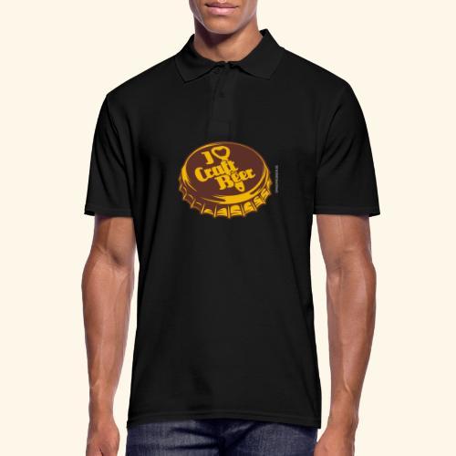 Craft Beer T-Shirt Design für Bier-Liebhaber - Männer Poloshirt