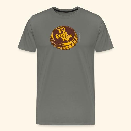 Craft Beer T-Shirt Design für Bier-Liebhaber - Männer Premium T-Shirt