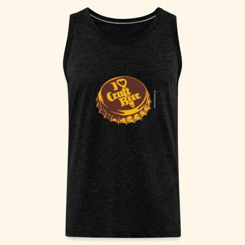 Craft Beer T-Shirt Design für Bier-Liebhaber - Männer Premium Tank Top