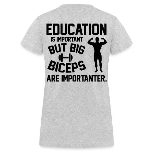 Økologisk Stanley & Stella T-shirt med V-udskæring til damer
