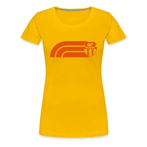 BGSKWR Stripes - Frauen Premium T-Shirt