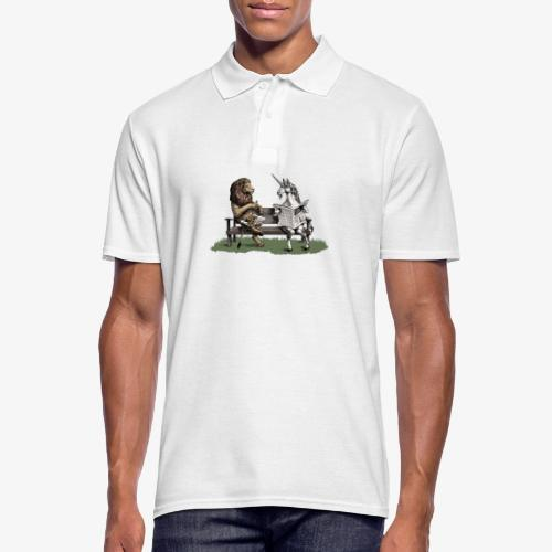 The Lion and the Unicorn - Men's Polo Shirt