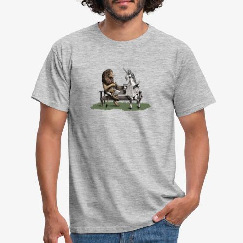 The Lion and the Unicorn - Men's T-Shirt
