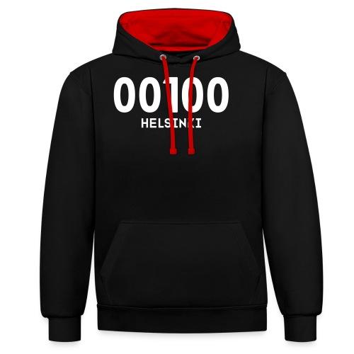 00100 HELSINKI - Kontrastihuppari