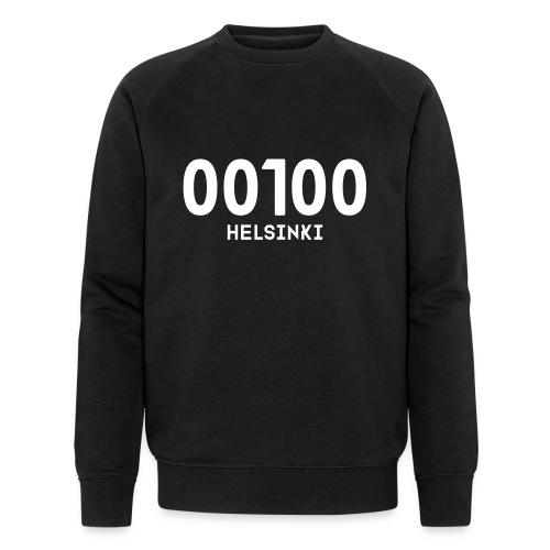 00100 HELSINKI - Stanley & Stellan miesten luomucollegepaita