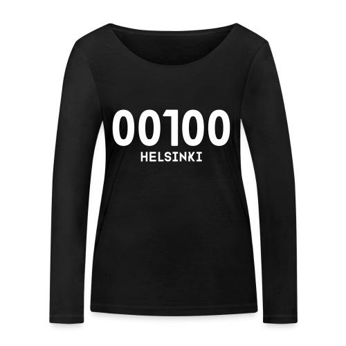 00100 HELSINKI - Stanley & Stellan naisten pitkähihainen luomupaita