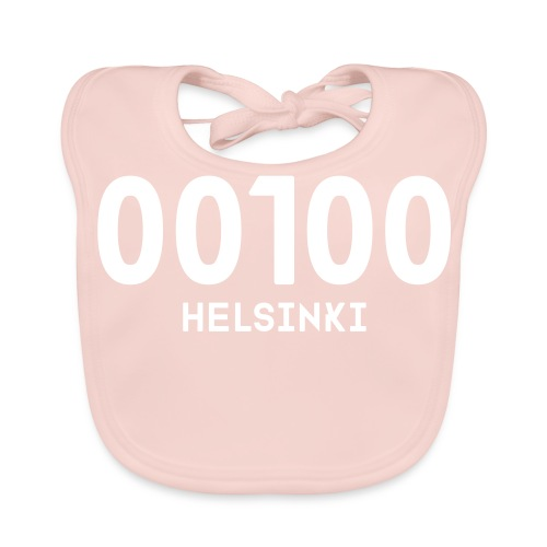 00100 HELSINKI - Vauvan ruokalappu