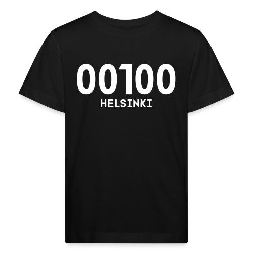 00100 HELSINKI - Lasten luonnonmukainen t-paita